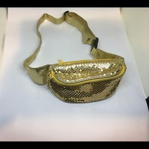 Handbags - Vintage gold sequin fanny pack